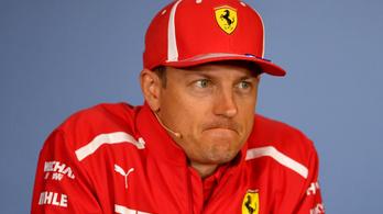 Räikkönen kiosztotta az újságírókat