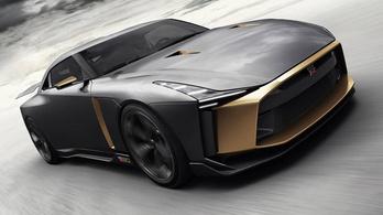 Félig olasz a legdurvább a Nissan GT-R