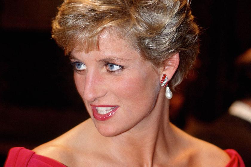 Diana hercegnő ilyen gyönyörű volt magyarországi látogatásakor
