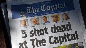 Eltorlaszolta a bejáratot, shotgunnal ölt a szerkesztőségi tömeggyilkos