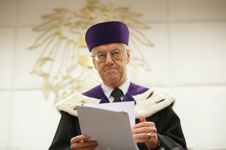 Gerhart Holzinger az osztrák alkotmánybíróság elnöke