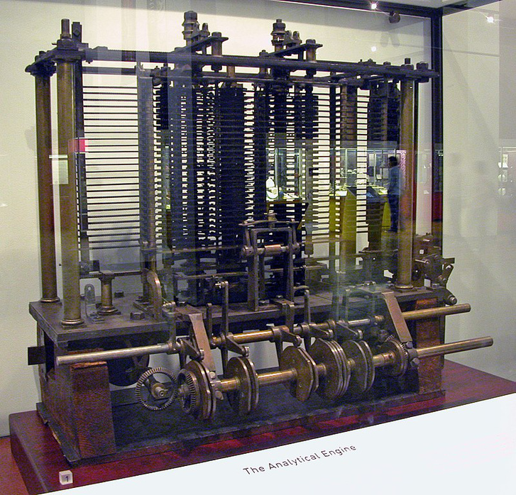 800px-AnalyticalMachine Babbage London