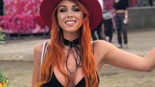 VV Sherezádé vörösre festette a haját és elvesztette a VOLT szüzességét