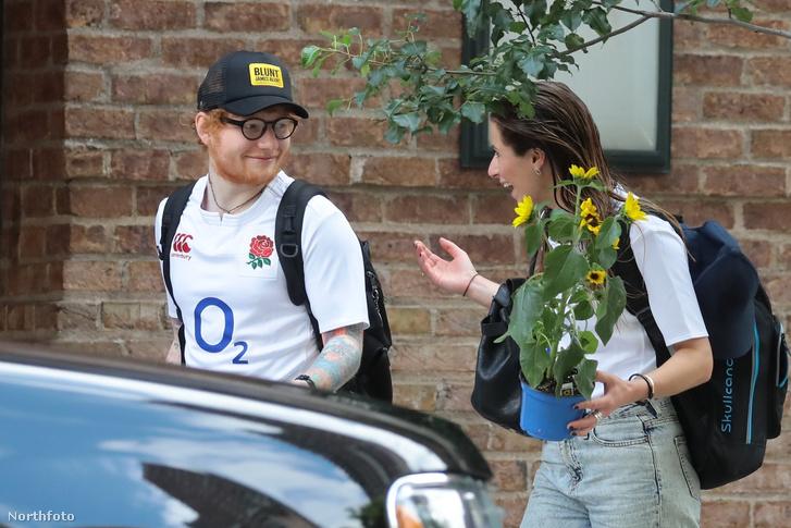 Ed Sheeran és barátnője Cherry Seaborn
