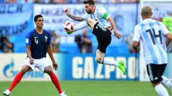 A franciák majdnem nagyon  megverték Argentínát