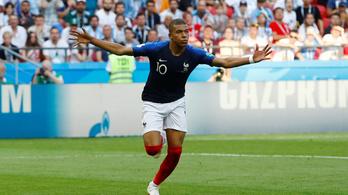 Őrült meccsen ejtették ki a franciák Messiéket, 4-3 a nyolcaddöntőben