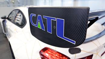 Akkumulátorgyárat épít Németországban a kínai CATL