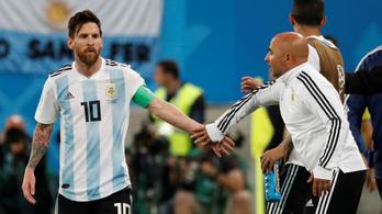 Az argentin kapitány minden taktikája csődöt mondott Messivel