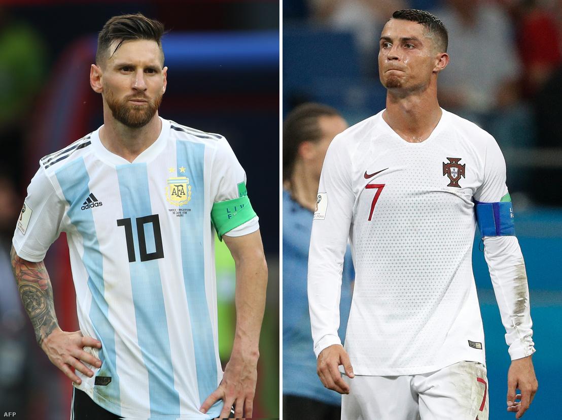 Lionel Messi és Cristiano Ronaldo