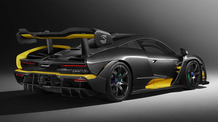 A karboncsomagos McLaren Senna