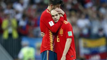Iniesta lemondta a válogatottságot a vb-kiesés után