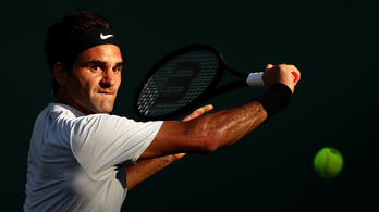 Federer a 21. Grand Slamjére hajt Wimbledonban