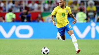 Brazília magabiztosan verte Mexikót, negyeddöntős
