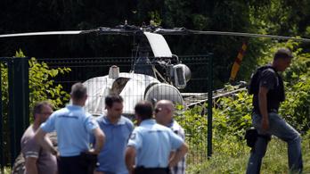 Totális hajtóvadászat a helikopterrel szökött francia csúcsbűnöző után