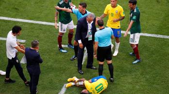 A mexikói kapitány Neymarról: A futball szégyene