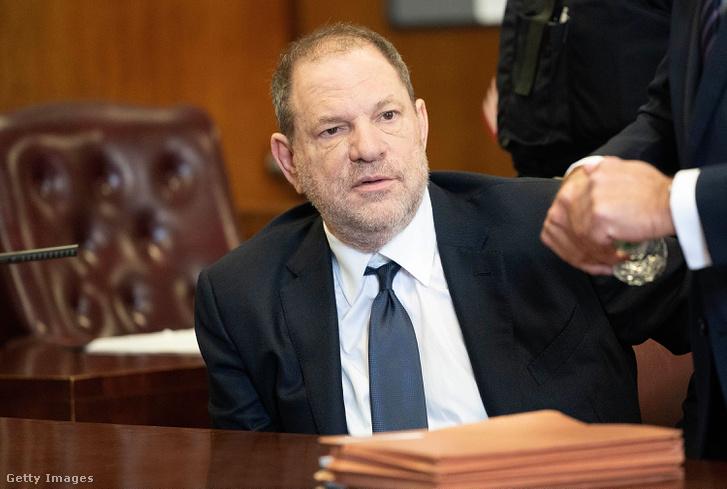 Harvey Weinstein a bíróságon 2018. június 5-én