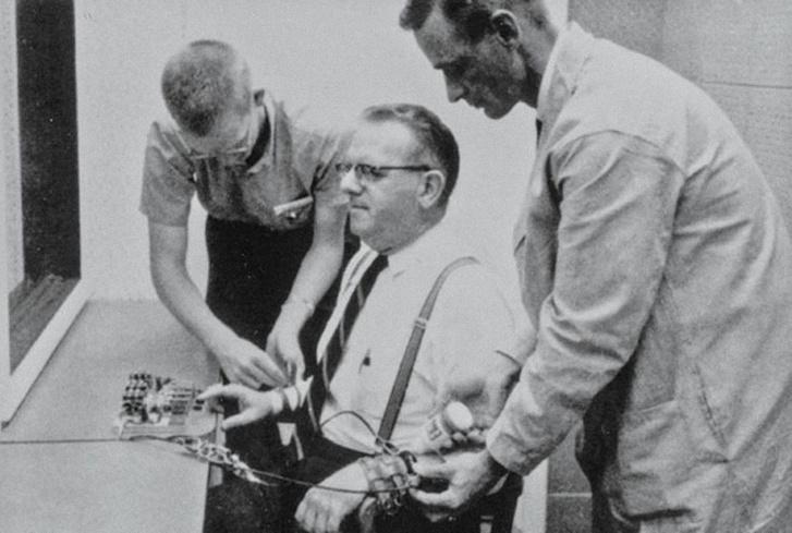 A Milgram-kísérlet egyik résztvevője