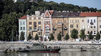 Megtalálták a bombát a Dunában, csütörtökön emelhetik ki