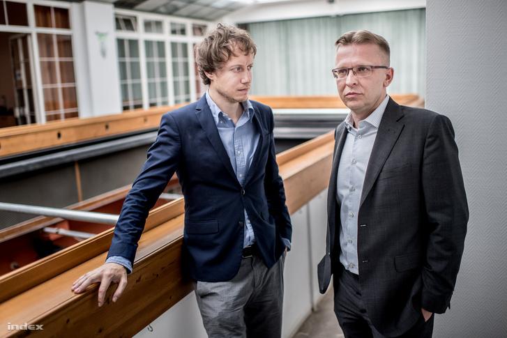 Nemes Jeles László és Vági Zoltán történész