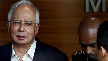 Letartóztatták a korrupt volt maláj miniszterelnököt