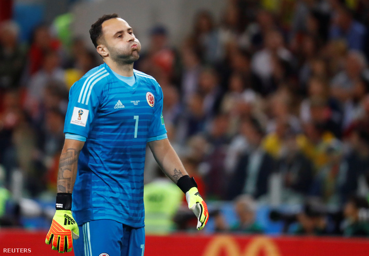 David Ospina, a kolumbiai kapus