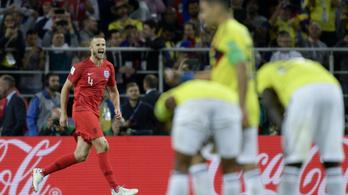 Anglia 11-esekkel kiverte Kolumbiát