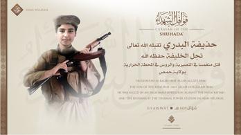 Megölték az Iszlám Állam vezetőjének egyik fiát Szíriában