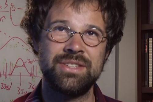 David Glowacki, a University of Bristol kémikus és kutatója
