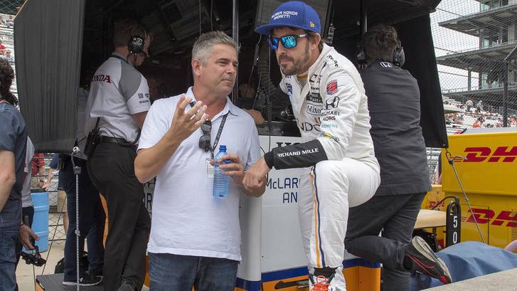 De Ferran és Alonso a spanyol tavalyi Indy-szereplésekor már dolgoztak együtt, jól kijöttek