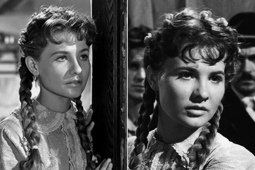 Törőcsik Mari, az ország egyik legendás színésznője így nézett ki a legelső filmjében, az 1956-os Körhintában.