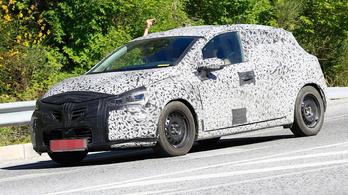 Kémfotón a következő Renault Clio