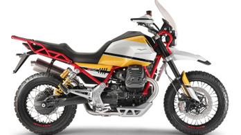 Gyártásba kerül a Moto Guzzi retró túraendurója