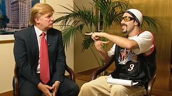 A Borat sztárja minden eddiginél nagyobbat rúghat Trumpba