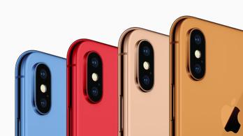 Jönnek a színes iPhone-ok