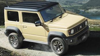 Kiderült, milyen lesz az európai Suzuki Jimny