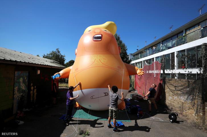Jó nagy Trumpballon