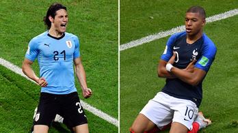 Riasztó számok az uruguayi-francia előtt