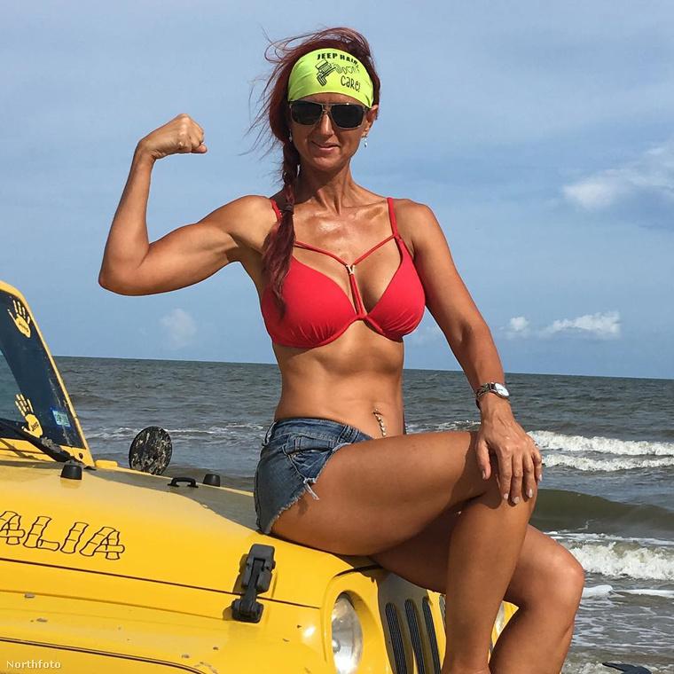 A válást követően kezdett el diétázni és sportolni, majd 2014-ben (akkor 40 évesen) döntötte el, hogy testépítővé gyúrja magát.