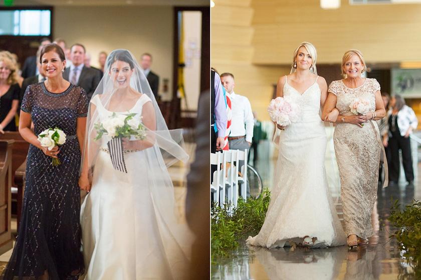 Csak az édesanyjára számíthatott egész életében, megható dolgot kért tőle az esküvőjén - Szívmelengető képek