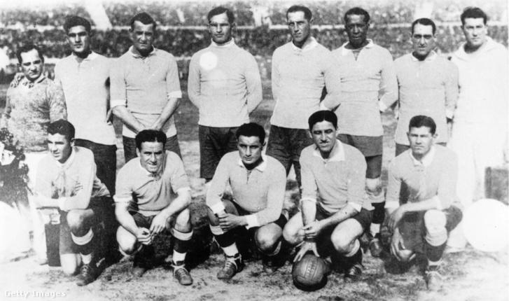 Az 1930-as vb-győztes csapat