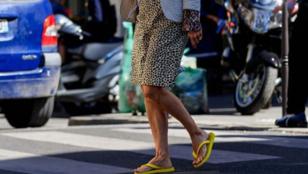 Flip-flop papucs és Dior táska - te hordanád együtt?