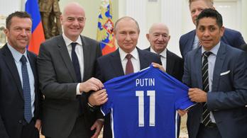 Putyin: Mindenki láthatta, milyen vendégszeretők, barátságosak vagyunk