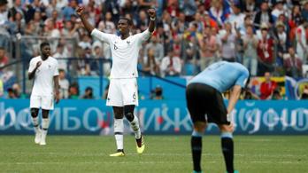 Hatalmas potyagól is kellett a franciák elődöntőjéhez