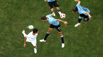 A Cavanit helyettesítő Stuanin ment el Uruguay elődöntője?