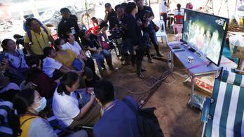 Még bizonytalan, mikor indul a thaiföldi barlangi mentőakció