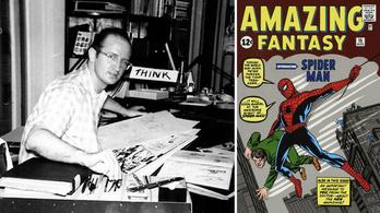 Meghalt Steve Ditko, Pókember egyik alkotója