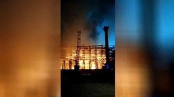 Tűz pusztított a világ egyik leghíresebb filmgyárában
