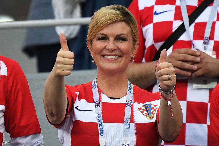 Kolinda Grabar-Kitarovic horvát államfő