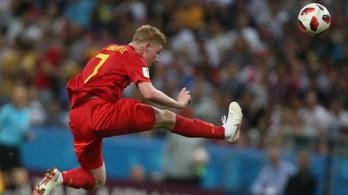De Bruyne 30-as sprintjei emelték elődöntőbe Belgiumot