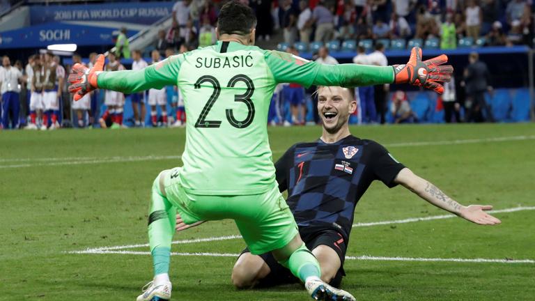Az oroszok a második büntetőpárbajt elbukták, Horvátország elődöntős